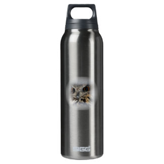 Eurasian Eagle-Owl 16 Oz Insulated SIGG Thermos Water Bottle