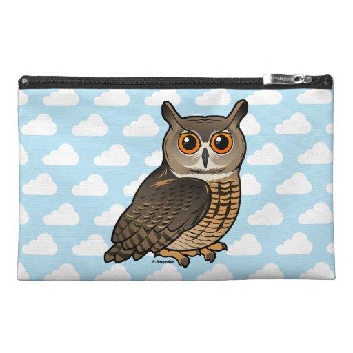 Eurasian Eagle-Owl Travel Accessory Bag