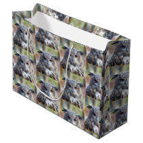 Eurasian Eagle-Owl, Uhu 02.2.8.o Large Gift Bag