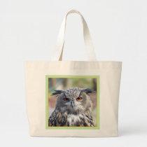 Eurasian Eagle-Owl, Uhu 02.2.o Large Tote Bag