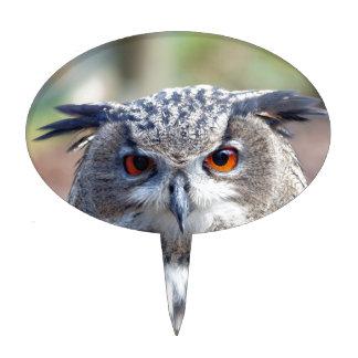 Eurasian Eagle-Owl, Uhu 2 Cake Topper