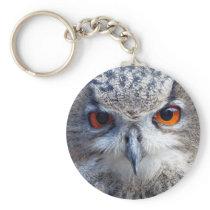 Eurasian Eagle-Owl, Uhu Keychain
