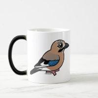Eurasian Jay Morphing Mug