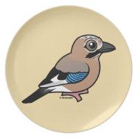 Eurasian Jay Plate