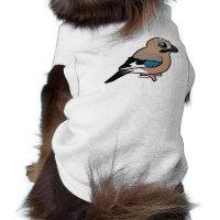 Eurasian Jay Dog Sleeveless T-Shirt