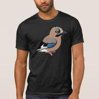 Eurasian Jay Men's Alternative Apparel Basic Crew Neck T-Shirt