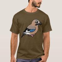Eurasian Jay Men's Basic Dark T-Shirt