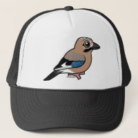 Eurasian Jay Trucker Hat