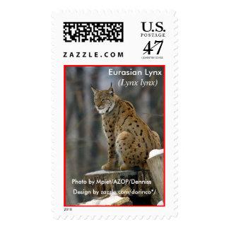 Eurasian Lynx (Lynx lynx) 2 Postage