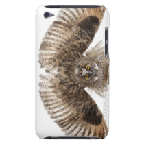 Eurasian Scops-owl - Otus scops (2 months old) Barely There iPod Case