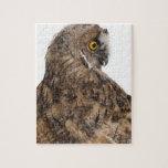 Eurasian Scops-owl - Otus scops (2 months old) Puzzles