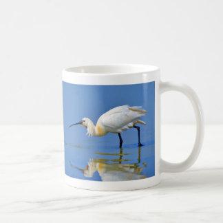 Eurasian Spoonbill Bird Platalea Leucorodia Coffee Mug