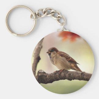 Eurasian Tree Sparrow Keychain