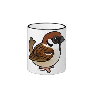 Eurasian Tree Sparrow Ringer Mug