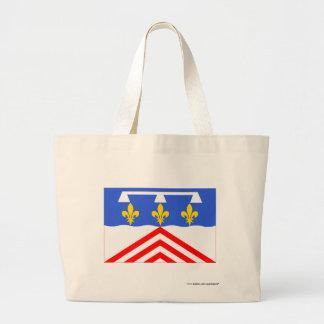Eure-et-Loir flag Canvas Bag