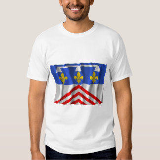 Eure-et-Loir que agita la bandera Poleras