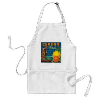 Eureka Brand Florida Citrus Fruit Adult Apron