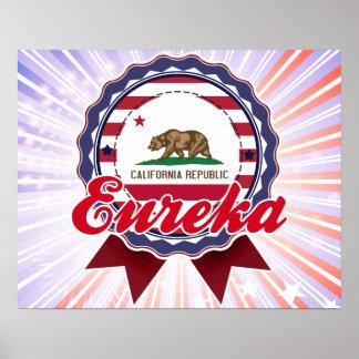 Eureka, CA Print