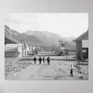 Eureka Colorado, 1900. Vintage Photo Poster