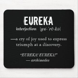 Eureka Definition Archimedes Principle Science Mouse Pad