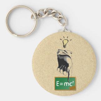 Eureka Einstein's Theory Keychain