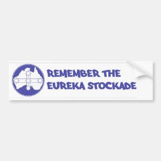 Eureka Flag Car Bumper Sticker
