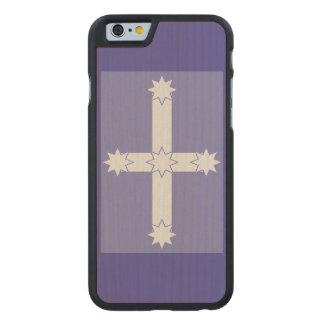 Eureka Flag Carved® Maple iPhone 6 Slim Case