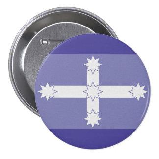 Eureka Flag Pinback Button
