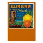 Eureka Florida Citrus Fruit Card