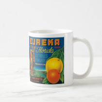 Eureka Florida Citrus Fruit Coffee Mug