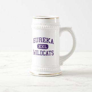 Eureka - gatos monteses - High School secundaria - Jarra De Cerveza