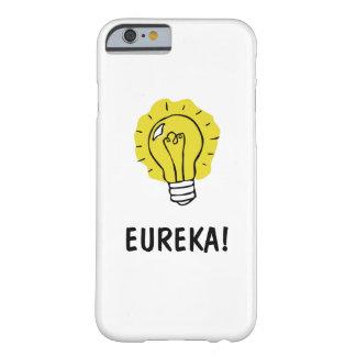 Eureka! Idea Lightbulb Illustration  iPhone Case