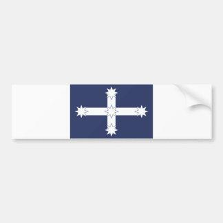 eureka miners battle old flag australia country bumper sticker