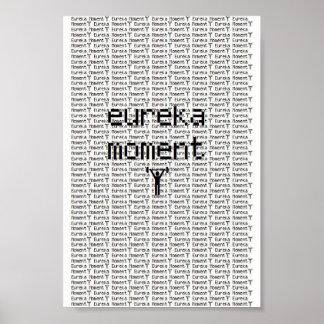 Eureka Moment Band Poster (barbell)