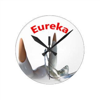 Eureka Round Clock