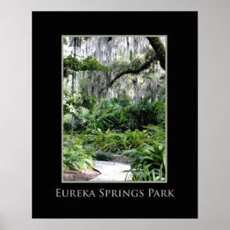 Eureka Springs Park 16x20 poster