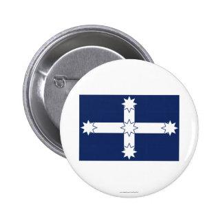 Eureka Stockade Flag Button