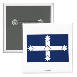 Eureka Stockade Flag Pinback Button