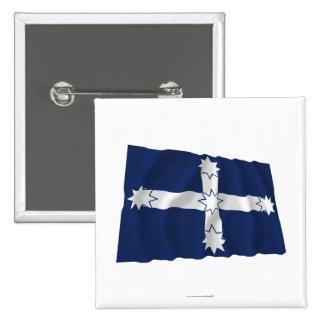 Eureka Stockade Waving Flag Pins