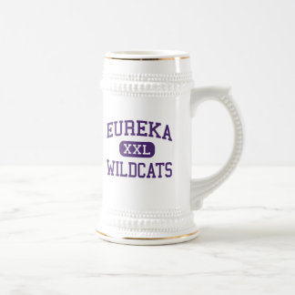 Eureka - Wildcats - High School - Eureka Missouri Beer Stein