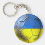 Euro 2012 de Ucrania y el Brasil fútbol de 2014 mu Llavero