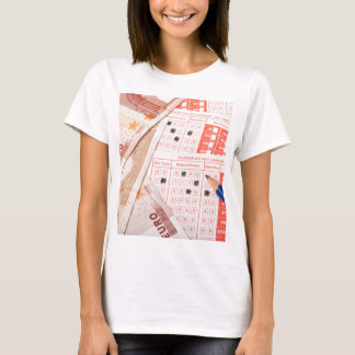 Euro and sports betting slip T-Shirt