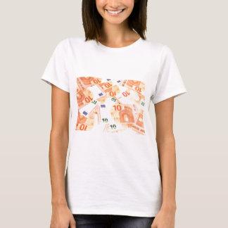 Euro background T-Shirt