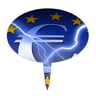 Euro-Bandera Figura Para Tarta