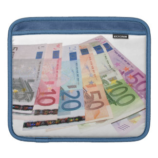 Euro bank notes sleeve for iPads