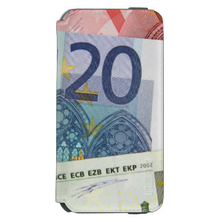 Euro Bills Background iPhone 6/6s Wallet Case