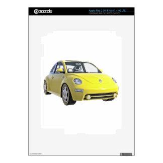 Euro Car in Yellow Skin For iPad 3