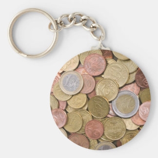 Euro Cents Keychain