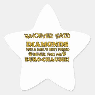 euro-chausie better than Diamonds Star Sticker