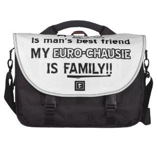 euro chausie cat design computer bag